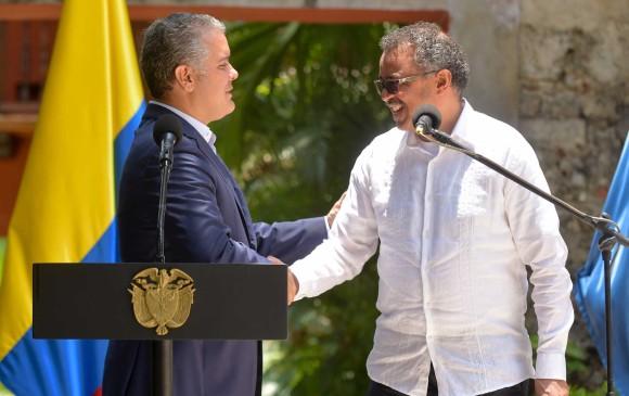 OMS agradeció a Colombia atención a migrantes venezolanos