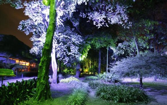 Nos cogió la noche en el Jardín
