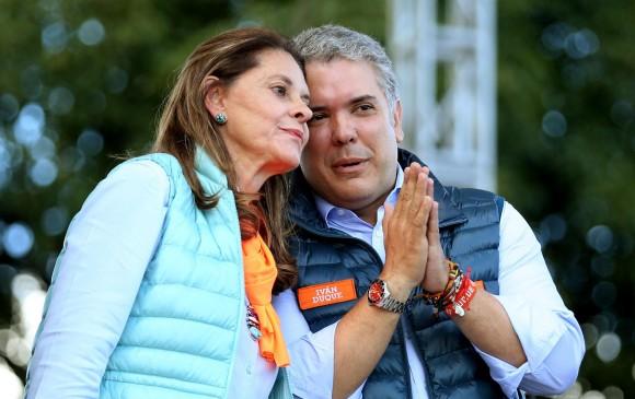 Marta Lucía Ramírez, vicepresidenta electa de Colombia.FOTO efe