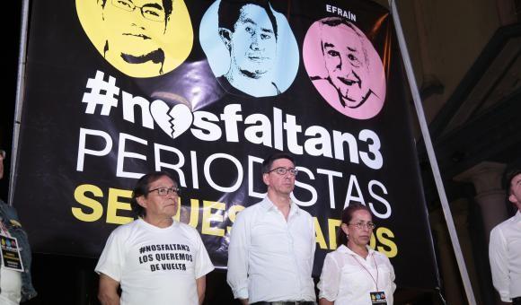 Gobierno de Ecuador confirmó asesinato de periodistas secuestrados por disidencia de Farc