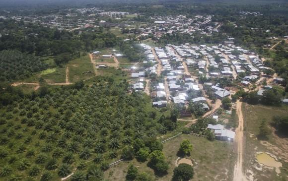 En zona rural de Tibú (foto), fueron asesinados dos hombres. FOTO JULIO CÉSAR HERRERA