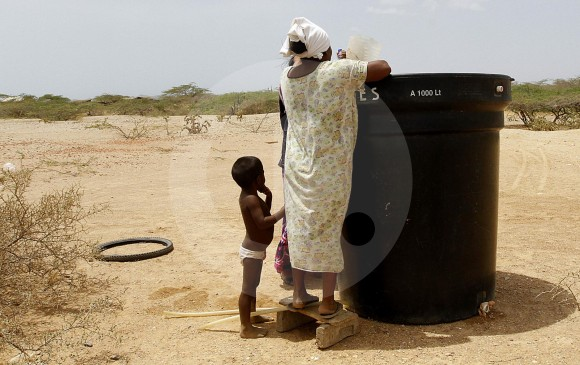 Duque llegó con promesas de agua a La Guajira