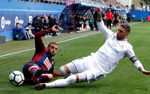 Zidane y el 'apretón' de Ramos:
