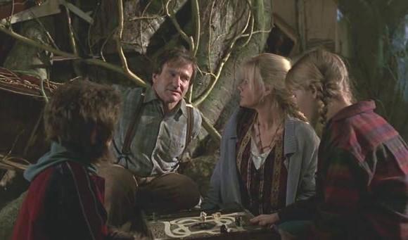 <i>Jumanji</i> (1995) es una película de aventuras. Un adolescente vive en la selva varios años y después regresa. Foto: Cortesía Dem of Geek.