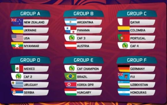 Clasificados Al Mundial Sub 20: Catar, Portugal Y Un Africano, Los Rivales De Colombia En