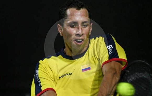 Daniel Galán le da el segundo punto a Colombia sobre Suecia