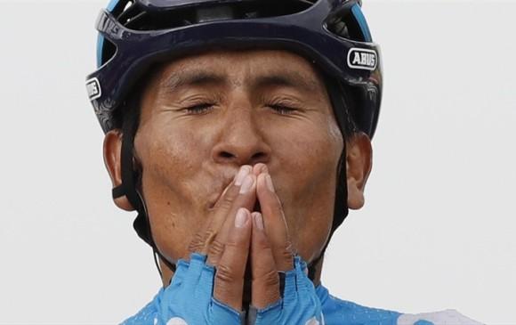 Nairo Quintana no tiene programadas más competencias este año. Solo un ciclopaseo en Boyacá. FOTO: MOVISTAR