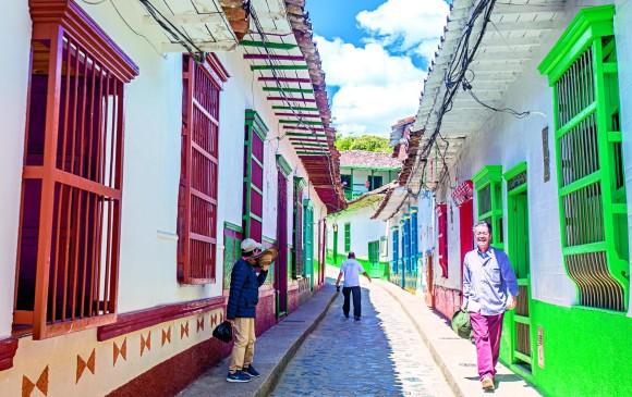 Concepción, el municipio es una joya colonial declarada patrimonio cultural del país. <b>FOTOS Juan Antonio sánchez</b>