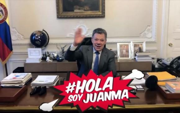 Juan Manuel Santos de Youtuber