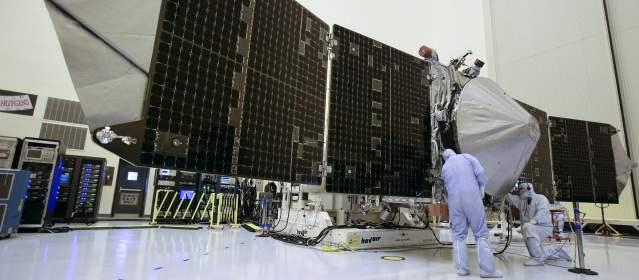 La Nasa estudiará atmósfera de Marte con nuevos equipos