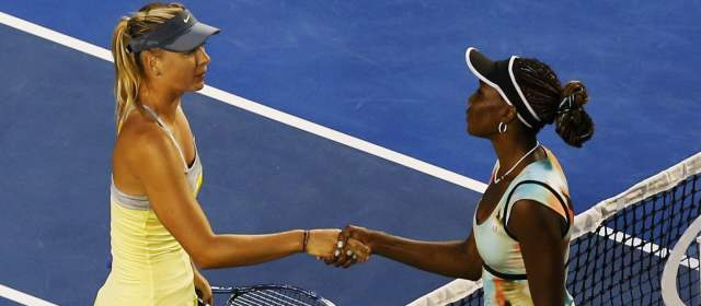 Sharapova arrasó con Venus Williams en el Abierto de Australia | FOTO REUTERS