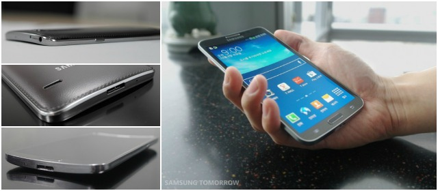 Con el Galaxy Round, Samsung inicia la batalla de smartphones con pantalla curvada