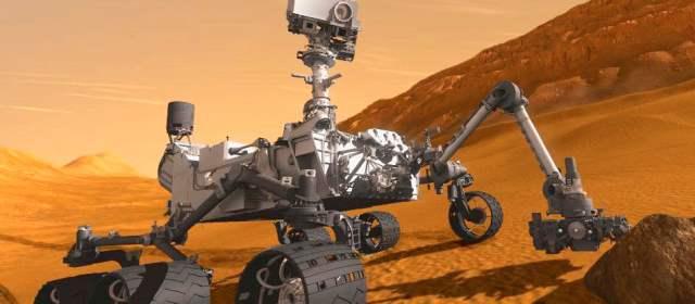 Curiosity encontró agua en el suelo de Marte