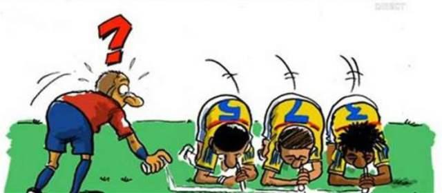 Caricaturista belga ofende a la Selección Colombia con dibujo