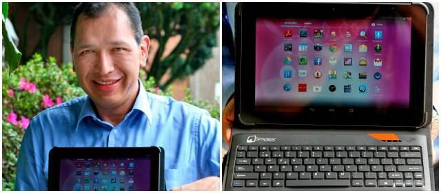 Ricardo Olarte se midió a diseñar una tableta
