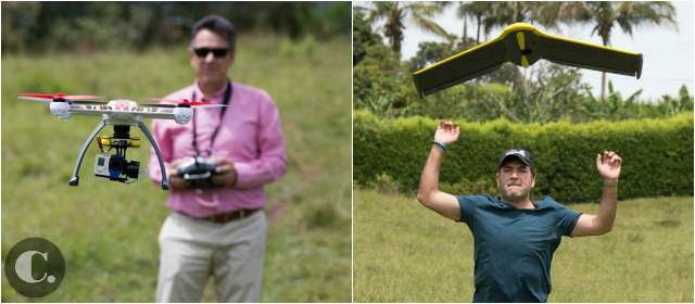 Los drones, vehículos para el trabajo y también la diversión