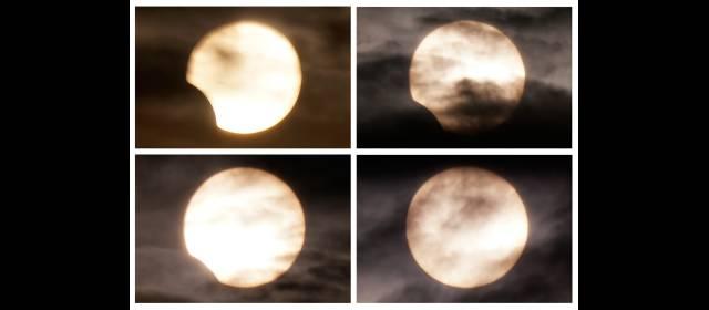 Un eclipse de Sol como el de ayer se repetirá en 2017