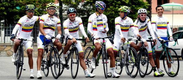 """¿El Team Colombia es realmente """"El equipo de Colombia""""? Seleccion-colombia-ciclismo-640x280-05-10-2013"""