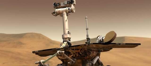 Robots cumplen 10 años en Marte