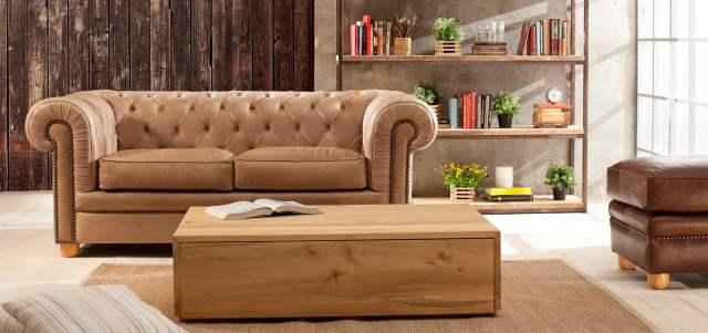 El cuero es la piel que reviste al mobiliario