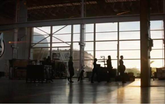 Imagen que aparece en el nuevo tráiler the Avengers: Endgame.