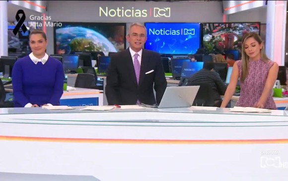 Presentadores de RCN lloraron en vivo por la muerte de Jota