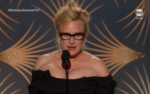 Patricia Arquette ganó el premio a Mejor actriz de miniserie. FOTO Cortesía TNT