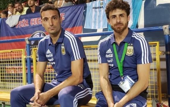 Lionel Scaloni y Pablo Aimar serían los entrenadores de Argentina