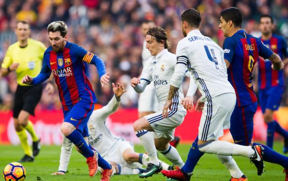 cb9e2c28ac05f 5 partidos de fútbol para no perderse este fin de semana. El juego entre el  Real Madrid y Barcelona es de los que acapara más la atención