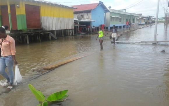Uno de los municipios más afectados por las lluvias es El Carmen del Darién. Foto: Cortesía