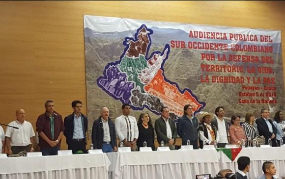 El pasado sábados los partidos políticos que integran la oposición al Gobierno realizaron su primer taller ciudadano en Popayán (Cauca). El próximo será en Barranquilla. FOTO cortesía