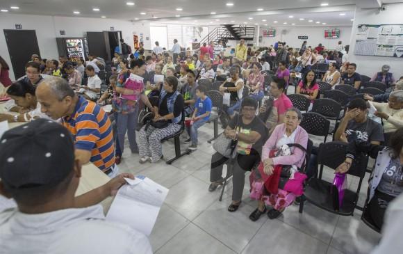 La EPS Savia Salud cuenta tanto con afiliados del régimen contributivo como del subsidiado y es la princial entidad prestadora de salud de Antioquia. Fue creada en 2013 y cuenta con una participación accionaria mayoritaria de carácter público. FOTO manuel saldarriaga quintero