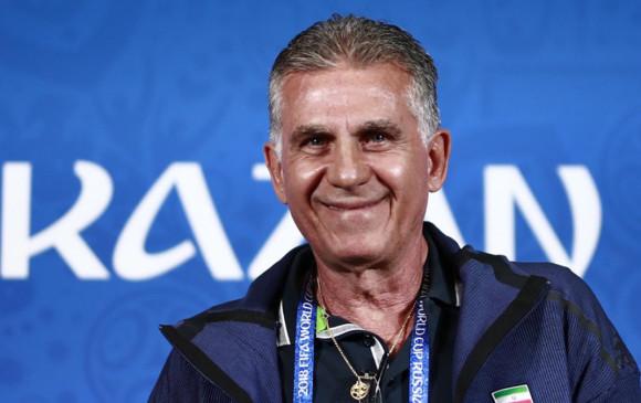 Colombia sería la quinta selección que dirija Carlos Queiroz. FOTO: AFP