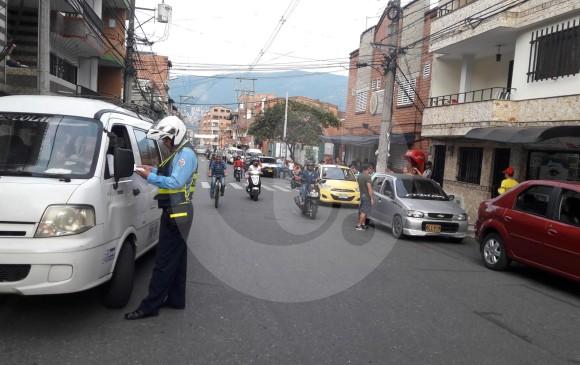 En el municipio de Itagüí se refuerzan controles al transporte escolar. FOTO CORTESÍA ALCALDÍA DE ITAGÜÍ