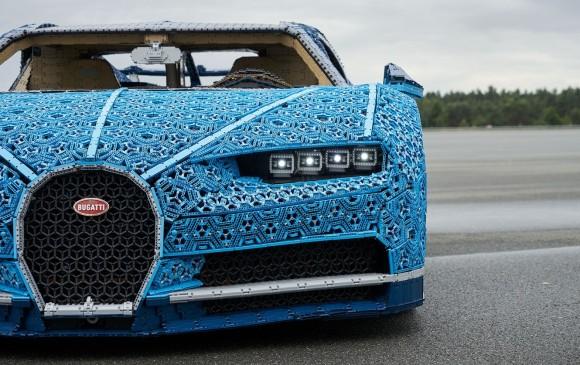 Bugatti llega con nuevo modelo hecho con Legos