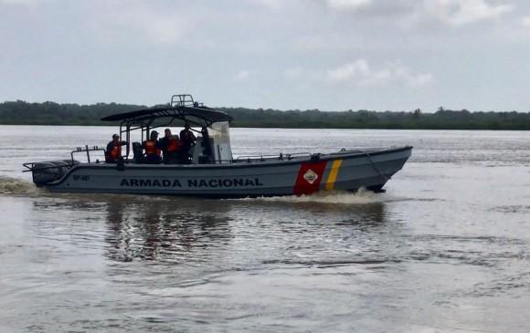 Naufragó una embarcación con 18 personas en el río Orinoco