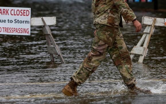 Ya son siete los muertos por Florence, que ya es tormenta tropical