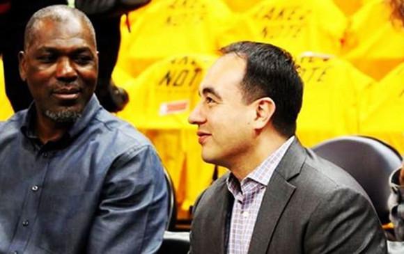Gersson Rosas, primer dirigente colombiano en la NBA