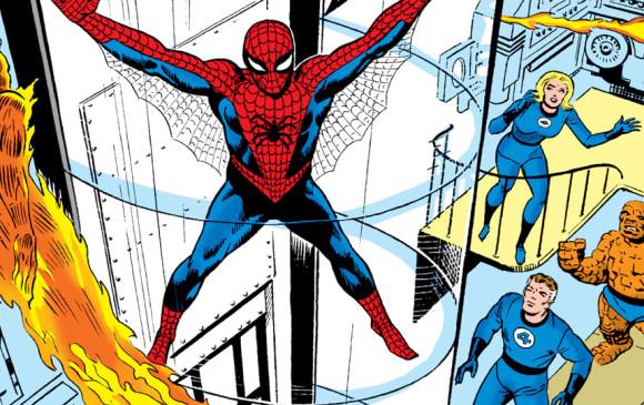Imagen con la que la página web de Marvel lamentó la muerte de Stephen Ditko.