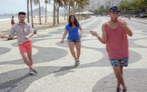 El colombiano Jonathan Clay apareció en el rewind de YouTube 2017. Tiene cerca de dos millones de seguidores en esta red social de videos. FOTO: Pantallazo de video