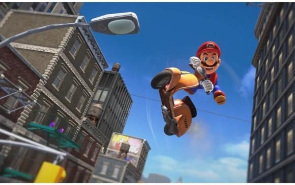 Con este nuevo juego se suman ya 29 títulos plataformeros de Mario. Foto: Nintendo.