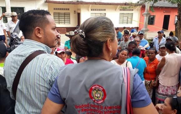 Familias desplazadas regresaron a sus hogares en zona rural de Cáceres