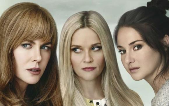 Nicole Kidman, Reese Witherspoon y Shaliene Woodley son las protagonistas de la serie. FOTO Cortesía HBO
