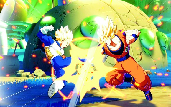 Dragon Ball FighterZ se publicará para PlayStation 4, Xbox One y PC en febrero de 2018. No hay fecha exacta. FOTO NAMCO bandai