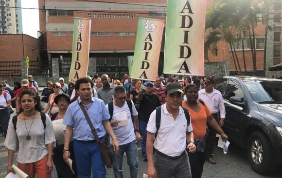 En la marcha participaron docentes, estudiantes y trabajadores de centrales obreras. <b>FOTO: </b>Cortesía Adida