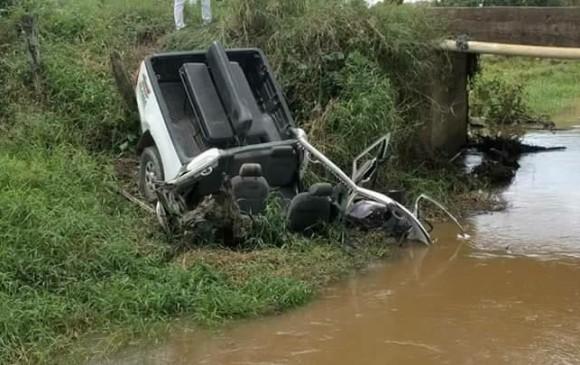 En Canalete, Córdoba, el pasado 22 de septiembre una carga explosiva fue detonada por el Clan del Golfo al paso de una patrulla de la Policía. En el hecho murieron dos agentes de esa institución y otros cinco resultaron heridos.