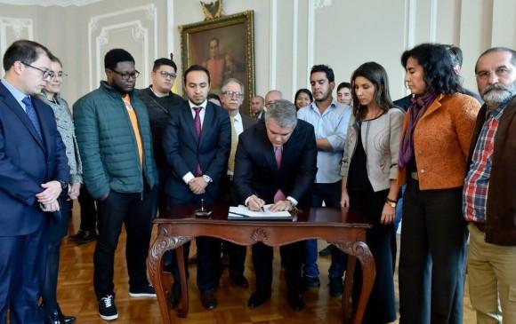 Acuerdo entre estudiantes y Gobierno