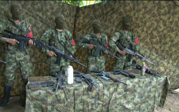 El Clan del Golfo (foto), sería el primer grupo en someterse a la Ley sancionada por Juan Manuel Santos. Esta norma no los exime de ir a prisión o de ser extraditados. FOTO cortesía jeisson rojas