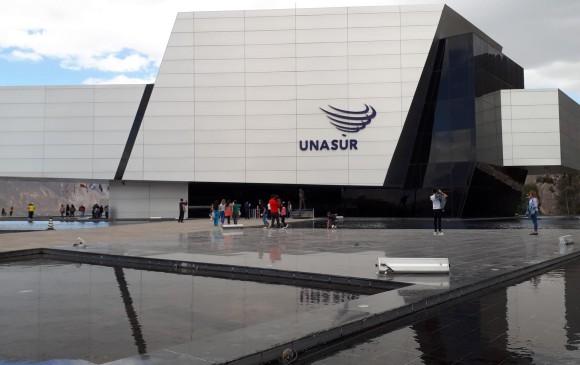 La sede de Unasur en Ecuador está ubicada a las afueras de Quito, en las inmediaciones del monumento a la Mitad del mundo. FOTO EFE