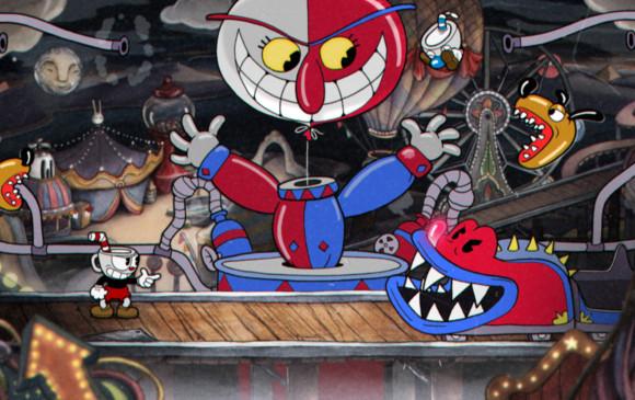 El juego se realizó al estilo de las animaciones clásicas realizando escenas cuadro por cuadro. FOTOS STUDIO MDHR
